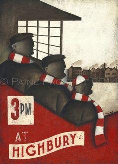 Arsenal - Paine Proffitt Ltd Ed