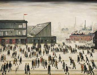Lowry, Laurence Stephen, 1887-1976; Going to the Match