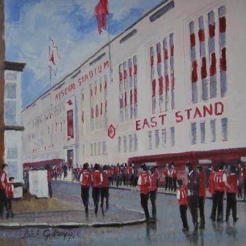 Arsenal Highbury East Stand - Dick Gilhespy