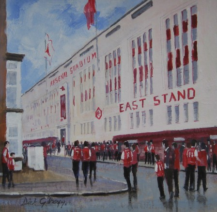 Arsenal Highbury East Stand - Dick Gilhespy