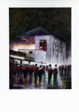 Arsenal Highbury - Dick Gilhespy