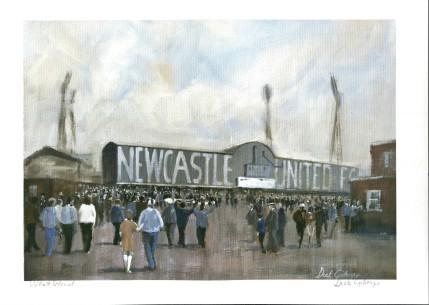Newcastle United - Dick Gilhespy
