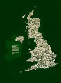 Football Map - Stuart Roy Clarke