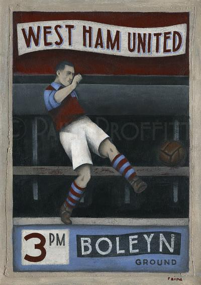 West Ham - Paine Proffitt Ltd Ed
