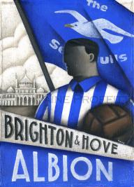 Brighton & Hove Albion - Paine Proffitt Ltd Ed