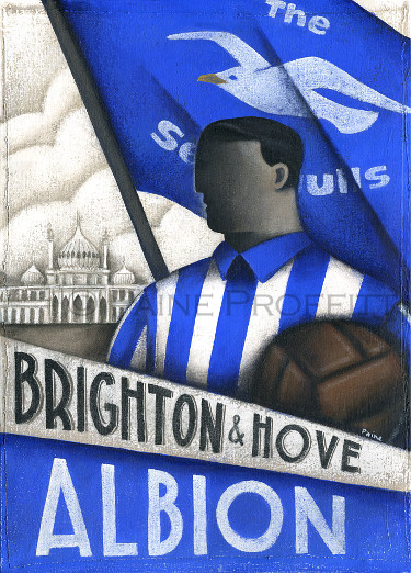 Brighton & Hove Albion - Paine Proffitt Ltd Ed